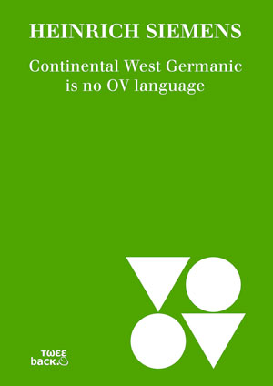 Continental West Germanic is no OV language